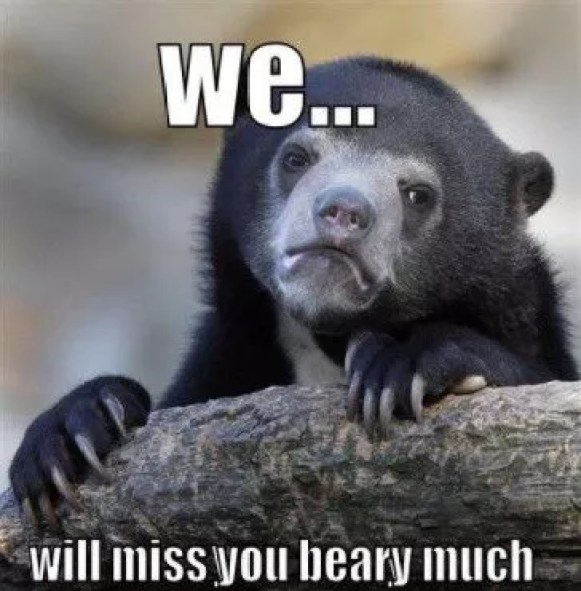 I Will Miss You Meme