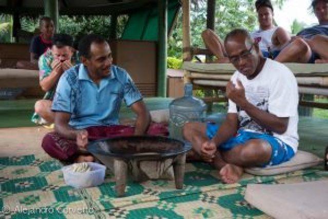 La ceremonia de la Kava