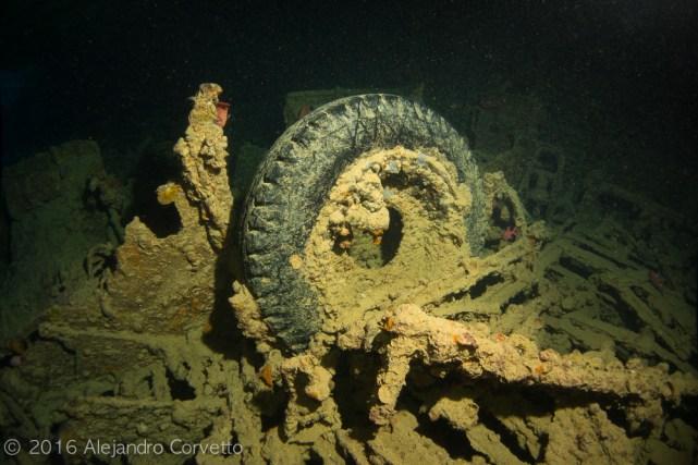 Neumático bien preservado