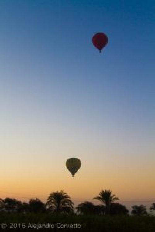 Balloon Over Luxor Egypt