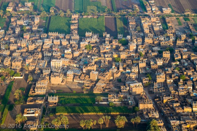 Luxor from the sky
