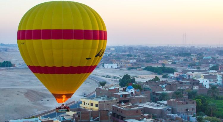 Volando sobre Luxor