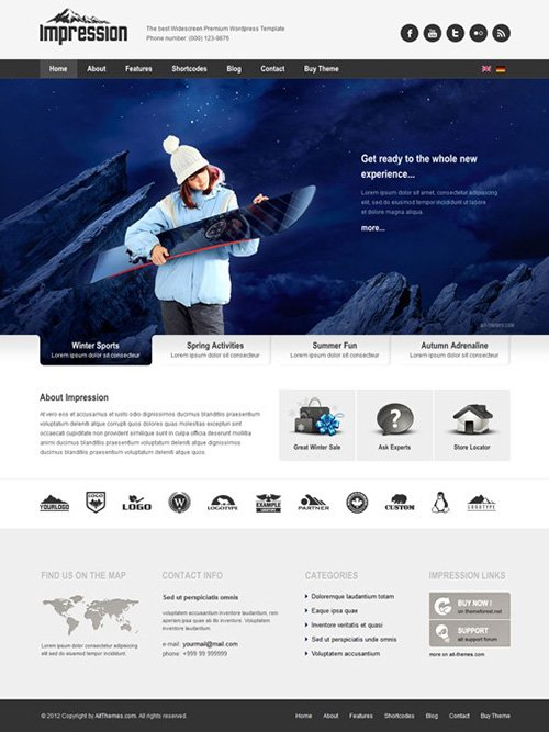 Ait-Themes - Impression v1.27 - Presentation WordPress Theme
