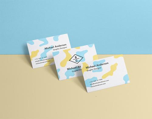 Business Card Mock-Up Vol 36