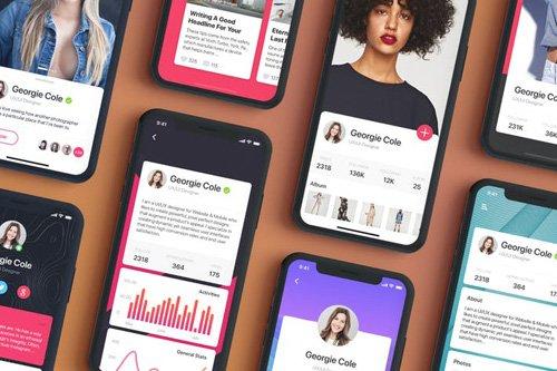 Profile Mobile UI Concept - Part 02