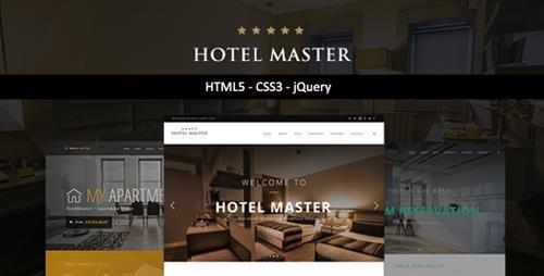 ThemeForest - Hotel Master v1.0 - Hotel HTML Template - 21929504