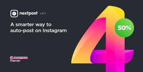 CODECANYON – INSTAGRAM AUTO POST & SCHEDULER – NEXTPOST INSTAGRAM V4