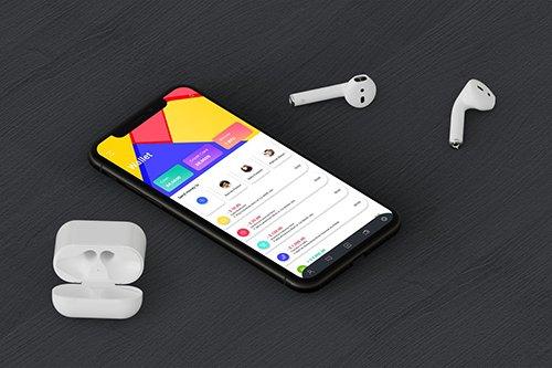 Digital Wallet 2 Mobile Ui - H
