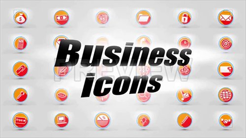 Icons Business - 3D Pack 80407