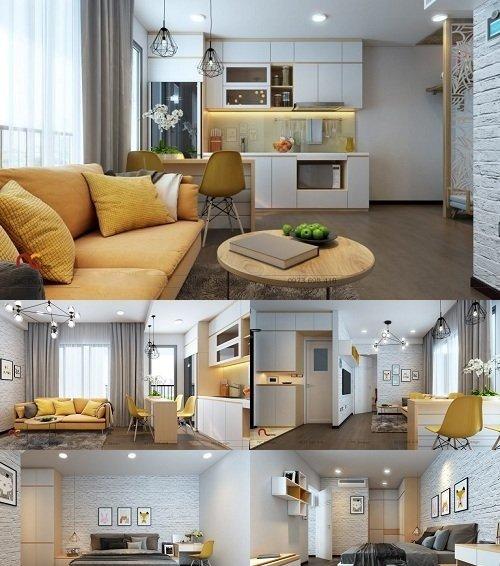 Apartment Design Ecolife Capitol Interior