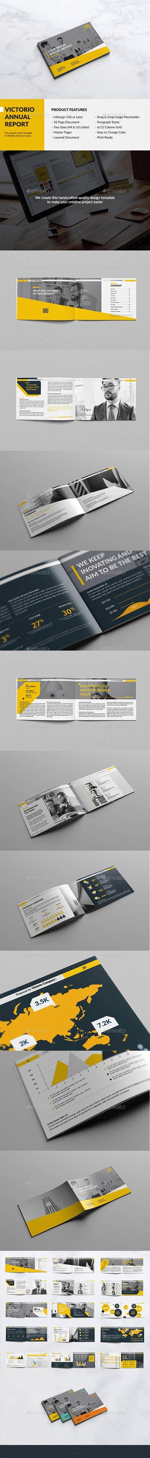 Graphicriver - Victorio Landscape Annual Report 15885166