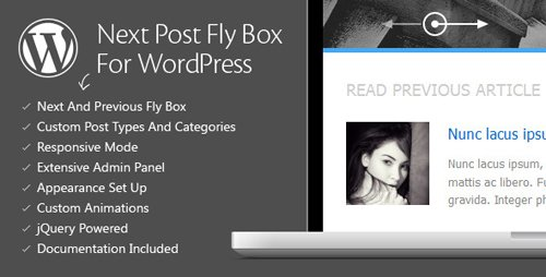 CodeCanyon - Next Post Fly Box For WordPress v3.3 - 3020948