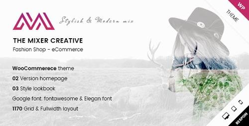 ThemeForest - ARW Mixer v1.0 - Creative Shop WordPress Theme - 19779956