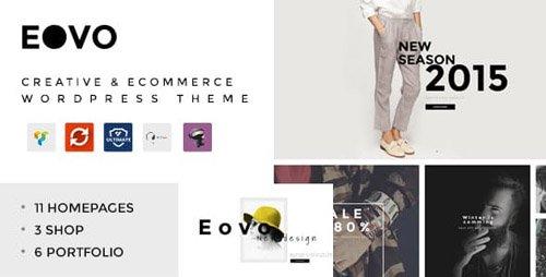 ThemeForest - EOVO v1.7 - Creative & eCommerce WordPress Theme - 16554455