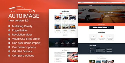 ThemeForest - Autoimage v3.4.5 - Automotive Car Dealer - 8784315 - NULLED