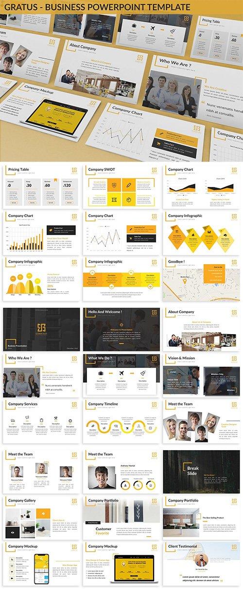 Gratus - Business Powerpoint Template
