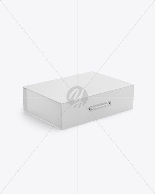 Matte Paper Box Mockup TIF