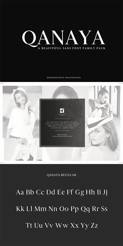 Download Qanaya Serif Font Family Pack » NitroGFX - Download Unique ...