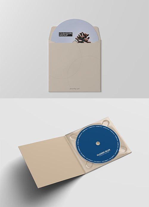 CD Pack Mockup Template