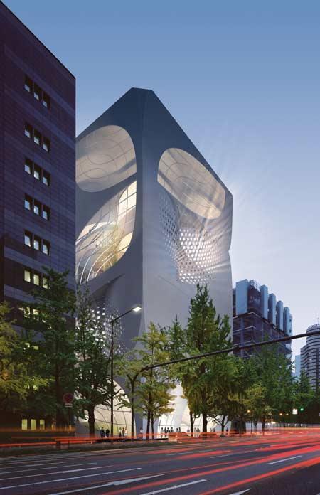 Louis Vuitton - Tokyo Flagship Store by UNStudio ...