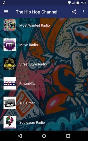 Hip hop apps - The Hip Hop Channel