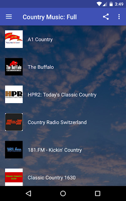 Country music apps - Country Music Full
