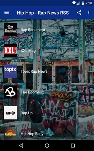 Hip hop apps - Hip Hop-Rap News
