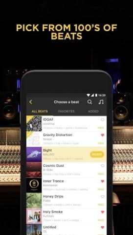 Hip hop apps - BattleMe Rap Maker
