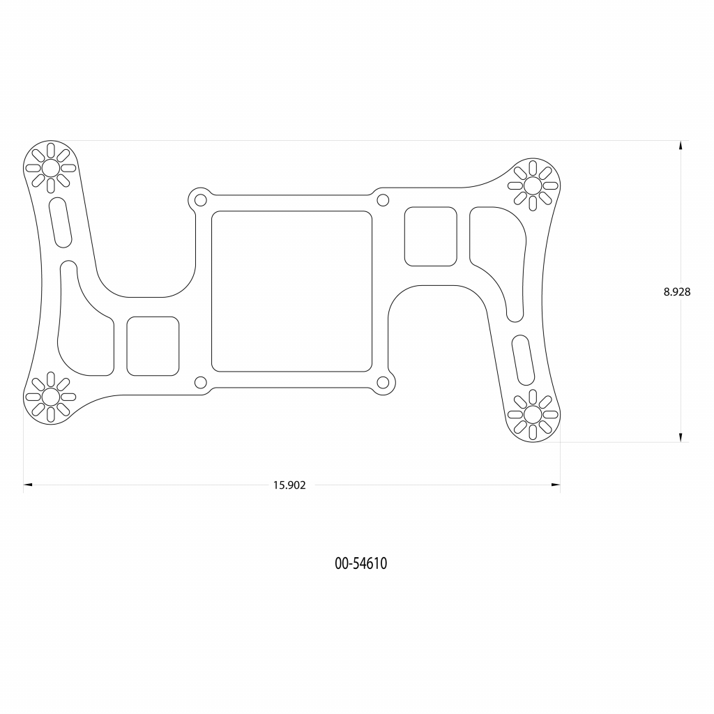 Hornet 2 Standard Wet Boomerang Nitrous Plate System