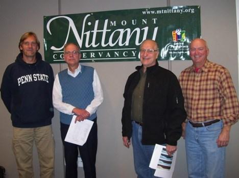 2011 – 2012 Officer Team Left to Right: John Hook, President; Doug Wion, Secretary; Bob Andronici, Vice President; Blake Gall, Treasurer