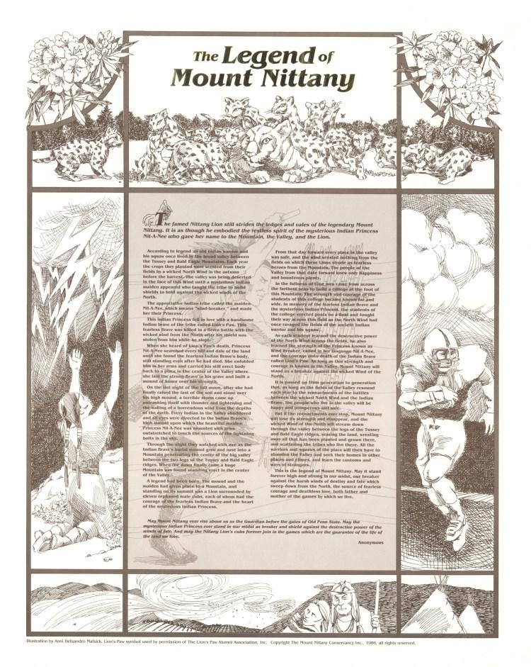 mt-nittany-legend-poster