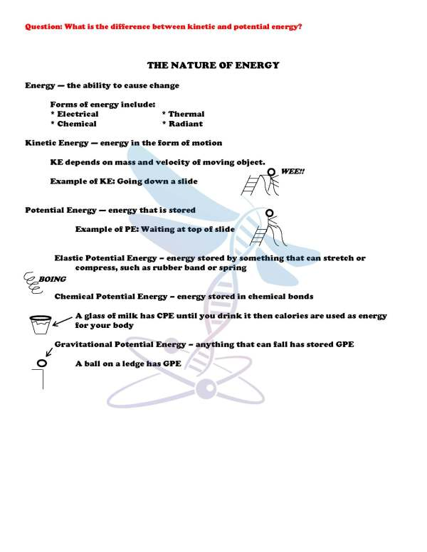 2443708 Page 4 - Energy, Work & Simple Machines: PS Notes, PowerPoint and Test ~ EDITABLE