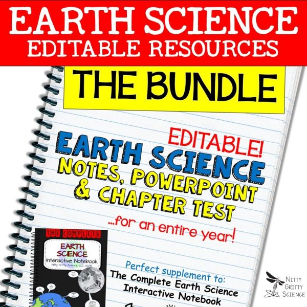 BUNDLE - Earth Science Curriculum – Ultimate Bundle v 2.0 ~ NO LABS