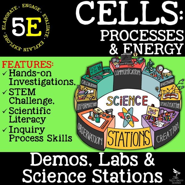 Cell Processes and Energy - CELLS: PROCESSES & ENERGY - Demos, Labs and Science Stations
