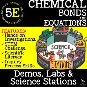 Chemical Bonds and Equations - CHEMICAL BONDS AND EQUATIONS - Demos, Labs and Science Stations