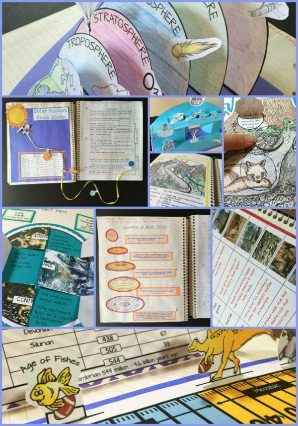 EArth Science Collage - Earth Science Interactive Notebook: The Complete Bundle for an Entire Year