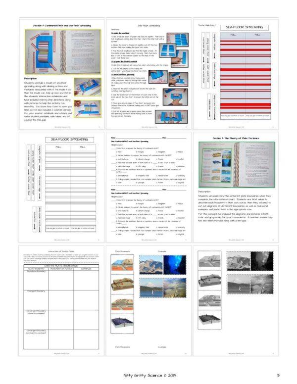 ES INB Plate Tectonics Page 5 - Plate Tectonics