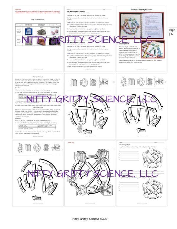 ES INB Rocks and Minerals Page 06 - Rocks and Minerals