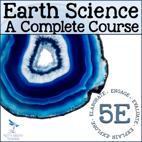 ES The Complete Course - EARTH SCIENCE CURRICULUM - THE COMPLETE COURSE ~ 5 E Model