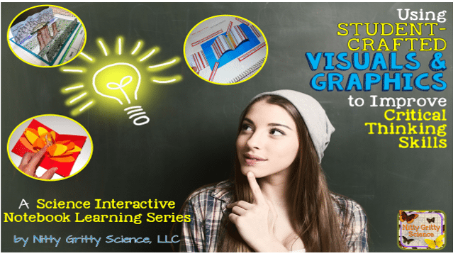 Science Interactive Notebook Learning Series: Using Visuals and Graphics to Improve Critical Thinking Skills