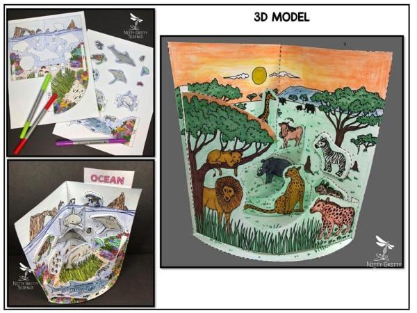 Ocean Preview 1 - Ocean Biome Model - 3D Model - Biome Project