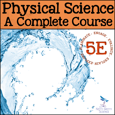 PS The Complete Course - PHYSICAL SCIENCE CURRICULUM - THE COMPLETE COURSE ~ 5 E Model
