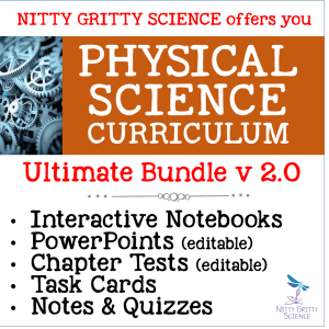 PS Ultimate Bundle - Physical Science Curriculum – Ultimate Bundle v 2.0 ~ NO LABS