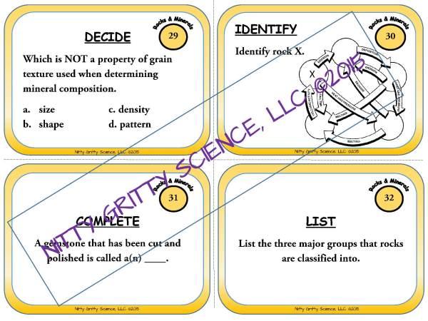 demoEarthScienceTaskCardBUNDLE2093572 1 Page 04 - Earth Science Task Card BUNDLE