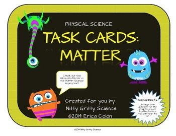 original 1192790 1 - Matter: Physical Science Task Cards