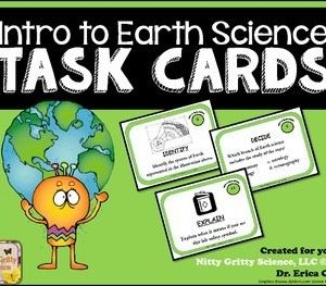 original 2093628 1 - Intro to Earth Science: Earth Science Task Cards