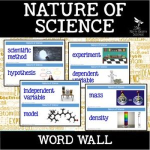 original 2500804 1 - Nature of Science - Word Wall FREEBIE