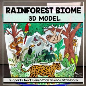 rainforest biome model 3d model biome projec featured image - Rainforest Biome Model - 3D Model - Biome Project