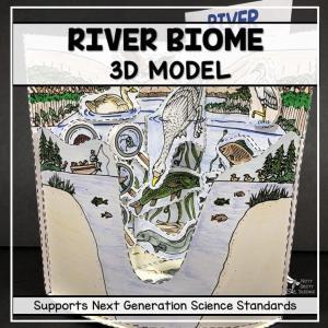 taiga biome model 3d model biome project featured image - Taiga Biome Model - 3D Model - Biome Project