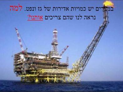 """ראש הממשלה נתניהו רצה למכור חלק משמעותי מגז של מדינת ישראל למצרים. הסיבה היא איום שמאיים על הביטחון של אזרחי המדינה. לטענת נתניהו, יחד עם ראש המל""""ל האחראי על נושאי המודיעין במשרד ראש הממשלה, במצרים אין גז או נפט ואנחנו חייבים למכור להם בכדי למנוע מהמשטר במצרים להתמוטט. הבעיה שבמצרים ישנן כמויות אדירות של גז ונפט המופקים באופן תדיר על ידי מספר חברות זרות כמו BP ו-Eeni. המשמעות היא שמצרים כלל אינה צריכה את הגז הישראלי והאיום על הביטחון הישראלי אינו מחזיק מים. ויש גם לשאול איך גופי מודיעין שונים, כמו המוסד, לא דיווחו לממשלה ולכנסת על הכמויות האדירות של הנפט והגז המופקים במדבר ובים התיכון במדינת מצרים?. הרי שרים וחברי כנסת הצביעו על יצירתו של מונופול בכדי """"להציל את מצרים"""" ואיש לה פתח פיו והתריע בפני כשל מודיעיני שיש שיגידו שהוא חמור יותר מזה של מלחמת יום הכיפורים."""